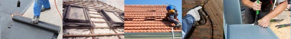Abdichten eines Flachdaches